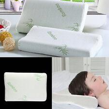 Adjustable bamboo Fiber Children Pillow Memory Foam For Neck Shoulder Support O8