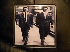SET OF 4     KRAY TWINS #4    DRINK COASTERS  HAVE A DRINK ON THE TWINS !