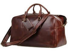 Mens Waxed Leather Travel bags Weekend bags Overnight bags Gym bags Wine Red