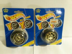 Hot Wheels 1990 Imperial Yo Yo NOS still in package lot 2