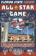 2019 Florida State League All-Star Minor League Baseball Program Royce Lewis +++