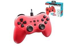 Subsonic Colorz Controller For Nintendo Switch With 3 Meter Cable Red - NEW