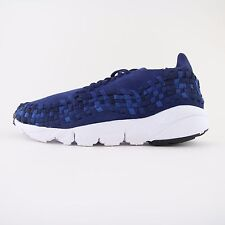 New Mens Nike Air Footscape Woven NM Binary Blue Trainers UK 7 BNIB 875797 400