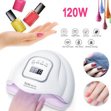 120W Nail UV LED Lamp Gel Nail Dryer Cure Manicure Nail Machine Nail Art Light