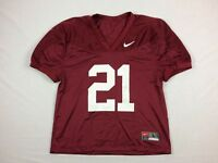 Nike Mississippi State Bulldogs - Maroon Nylon Jersey (Multiple Sizes) - Used