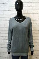 PAOLO PECORA Maglione Maglia Donna Taglia Size XL Pullover Felpa Sweater Shirt