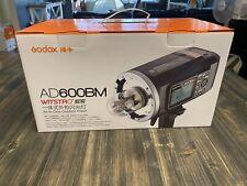 Godox Witstro AD600BM Pro strobe Bowens mount Li-ion Battery.