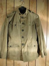 WWI US Army Expeditionary Forces Summer Uniform Tunic Coat
