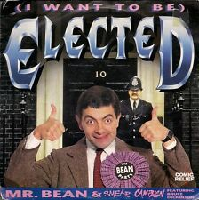 "Mr. Bean & Smear Campaign (I Want To Be) Elected  Comic Relief. UK 45 7"" sgl"
