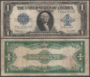 U.S. Silver Certificate, 1 Dollar, 1923, F+++, P-342