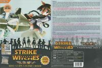 ANIME DVD Strike Witches Season 1+2(1-24End+Movie+OVA)Eng sub + FREE CD