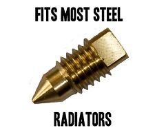 Radiator BRASS BLEED SCREW AIR / VALVE VENT - TYPE 3 -FITS MOST STEEL RADIATORS
