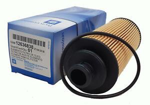 Oil Filter Suits Holden Colorado RG 2012-2020 Diesel Genuine 12636838