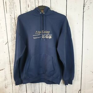 Vintage Port and Company USA American Wasatch 'Lightning' Soccer Club Hoodie L