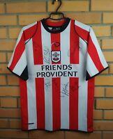 Southampton Autograph Jersey 2005 2006 Home SMALL Shirt Soccer Sportswear Trikot