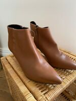 NEXT WOMENS TAN ANKLE BOOTS SIZE: 7 BNWT RRP £55