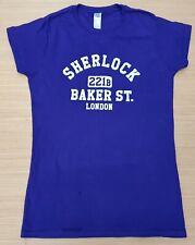 "GILDAN Girls Purple Short Sleeve Sherlock 100% Cotton T Shirt Small 28"" Chest"