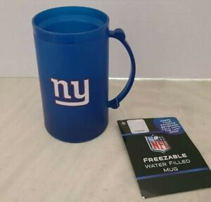NFL NEW YORK GIANTS FREEZABLE WATER FILLED MUG CUP NEW