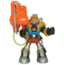 Rescue Heroes Fisher Price Jack Hammer #78370 6-inch Action Figure with Saw 2001