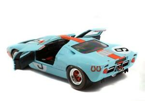 Rodriguez/Bianchi #9 FORD GT40 MK1 1968 24 HOURS OF LE MANS Winner 1/18 Opening