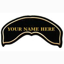 Lote de 3 Pequeños Rocker Harley Davidson Personalizada Tu Nombre/Nick – letras de oro
