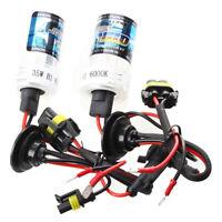 1 Pair Car HID Xenon Bulbs Lights H1 35W 6000K 3000LM - White G5J5