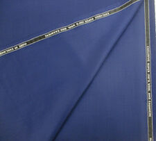 Dark Royal Super 150's Wool & Cashmere Mens Suiting Fabric. By John Foster