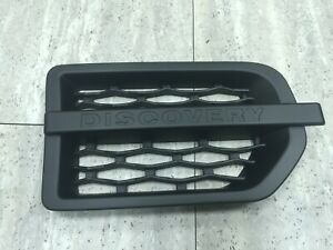 Side Vent Grille Performance Style For '04-'09 Land Rover Discovery 3 L319 Black