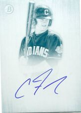 2014 bowman inception clint frazier auto card PARALLEL 1/1