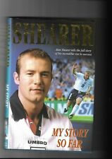 ALAN SHEARER. SIGNED AUTOBIOGRAPHY. ENGLAND. NEWCASTLE. BLACKBURN. GOOD.