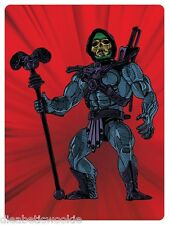 MotU Mattel Universe Skeletor vintage Toy figure art print poster mondo He-Man