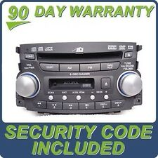 NEW 07 08 ACURA TL OEM Radio Stereo 6 Disc CD Player Changer DVD MP3 WMA 1SB1