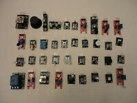 37 Sensor Module Project Boards IC Learning Electronics Starter Kit for Arduino