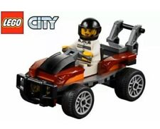 LEGO City 60208 - Getaway Buggy Quad & Crook Minifigure Only.Split from 60208