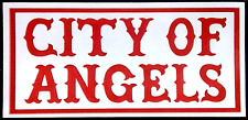Hells Angels Support Sticker City of Angels Original 81 Support Autocollant