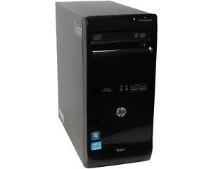 HP Pro 3400 - Intel i3-2120 @ 3.3GHz, 4GB RAM, 1TB HDD, Windows 10 Pro x64