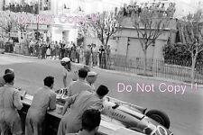 Eugenio Castellotti Lancia Ferrari D50 Grand Prix de Mónaco 1956 fotografía 2