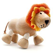 LION-Giocattolo in legno con arti flessibili || by ANAMALZ