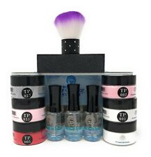 Nail Dipping Powder Starter Kit. Easy to use dip powder 1 oz. per jar, Value Kit