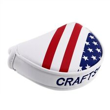 Us Flag Golf Magnetic Center Shaft Mallet Putter Headcover for Odyssey 2ball Us