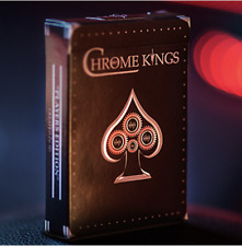 Chrome Kings Limited Edition Playing Cards (Players Edition) by De'vo vom Schatt