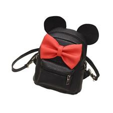 Backpack Mickey Mini Bag Women's Bow Teen Rucksack Small Cute Mouse Ears Pack