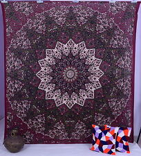 Indian Star Tapestry Wall Hanging Vintage Home Decor Table cover Hippie Coverlet