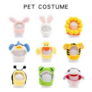 New Dog Cat Costume Cosplay Animal Headgear Cat Kitten Puppy Hat Head Decoration