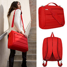 "Red Women's Backpack Laptop Shoulder Bag For 15.6"" Lenovo / HP / ASUS / Dell"