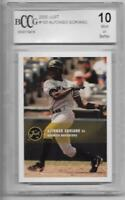 ALFONZO SORIANO 2000 JUST PROSPECT ROOKIE BCCG GRADED 10 NY NEW YORK YANKEES RC