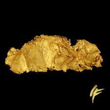 Gold leaf cristalino | hoja de oro goldnugget Australia, Gediegen 2,6 gramo (g)