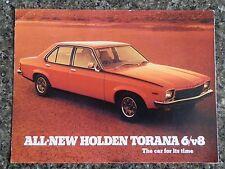 HOLDEN 1974  LH TORANA (SLR & SLR5000)  SALES BROCHURE