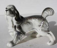 Pointer-Springer Spaniel Dog Figurine-Ceramic-Porcelai n-Great Detail-Adorable