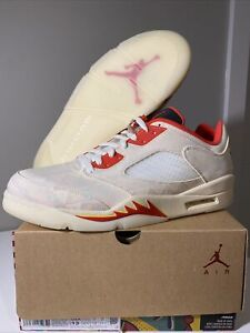 New Air Jordan 5 Retro Low CNY Chinese New Year Size 13 DD2240-100